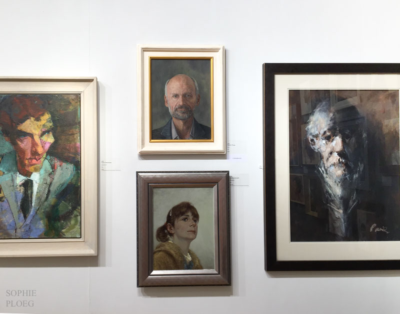 Sophie Ploeg Royal Society of Portrait Painters 2015