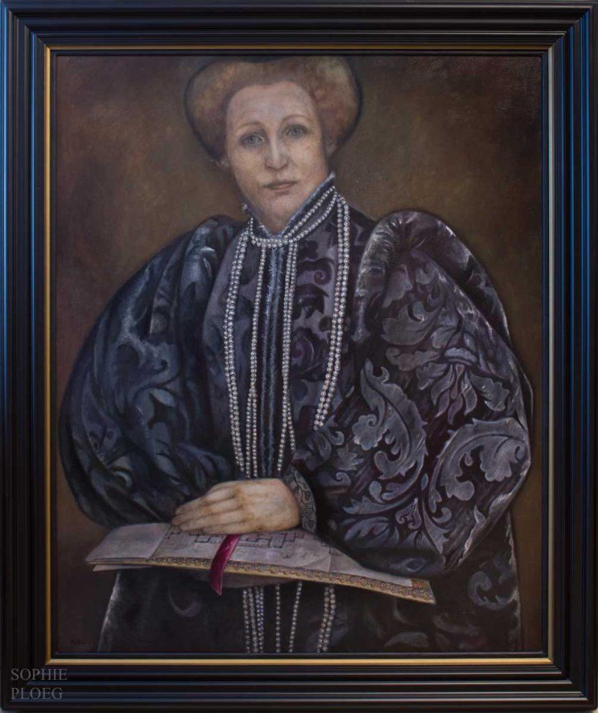 Sophie Ploeg, The Matriarch, oil, 101.5x81cm