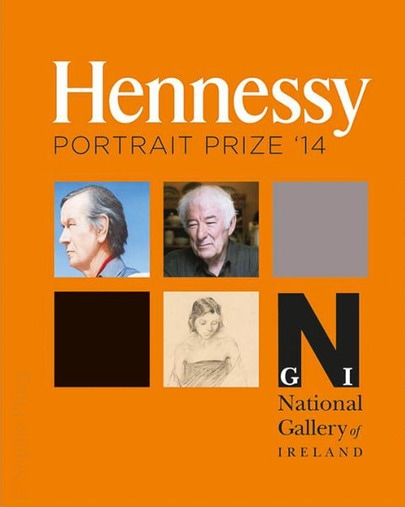 Advertising poster for the Hennessy Portrait Prize in Ireland