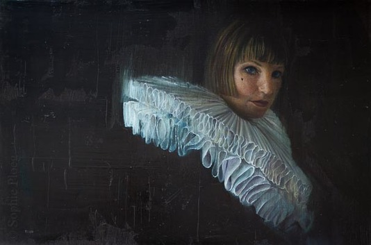 Sophie Ploeg, Pleating Time, 40x60cm