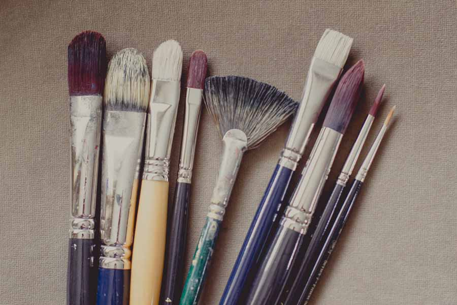 Sophie Ploeg Oil Painting Brushes