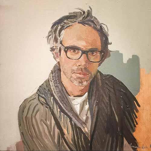 Alexander Chamberlin, James Rhodes, Oil on canvas, 50x40cm