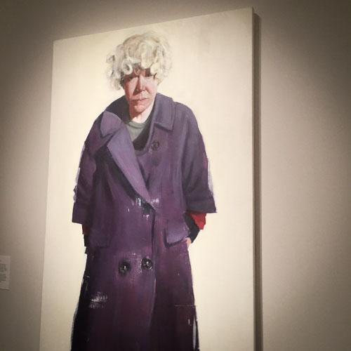 Brett Armory, Jijinka, Oil on canvas, 244x122cm