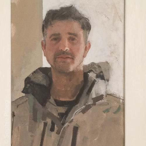 Helen Wilson, Jonah Gaskell, Oil on board, 29x20cm