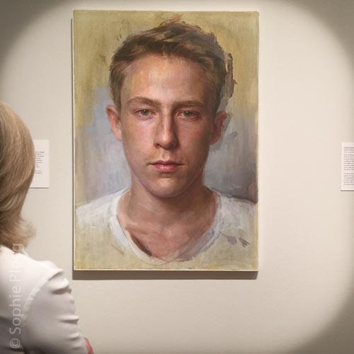 Jean-Paul Tibbles, Jean 2015, Oil on canvas, 107x76.5cm