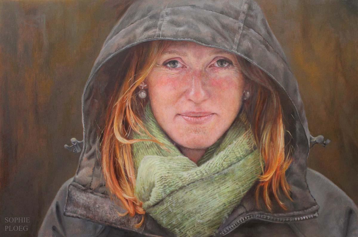 Sophie Ploeg, Autumn, oil on linen.