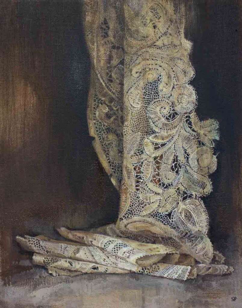 Sophie Ploeg, Brabant Lace, oil on linen