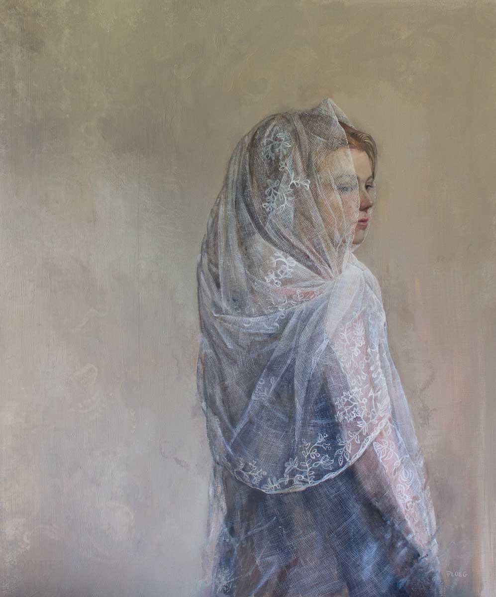 Sophie Ploeg, Looking Back, oil on linen