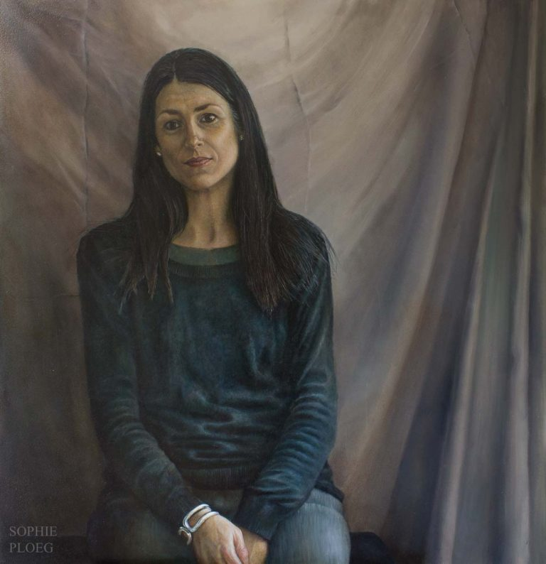 Sophie Ploeg, Nelly oil painting