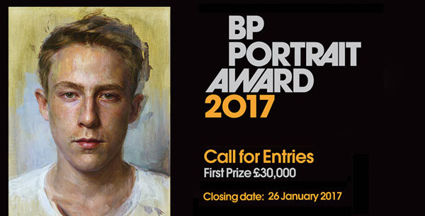 BP Portrait Award 2017: Call for entries poster