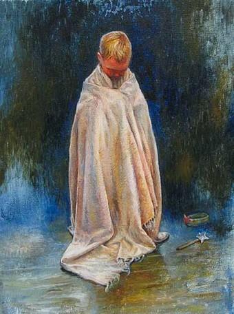 Sophie Ploeg, Little Prince, oil on canvas, 40x30cm, 2011.