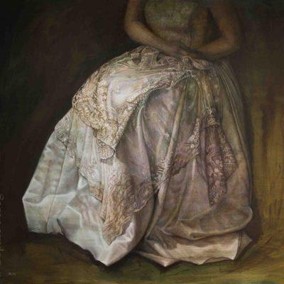 Sophie Ploeg, The Duchess, oil on linen