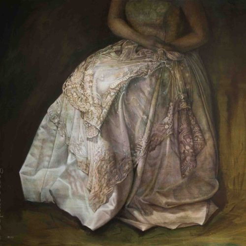 Sophie Ploeg, The Duchess, oil on linen
