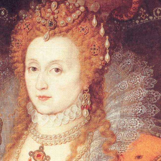 Gheeraerts the Younger, portrait of Elizabeth