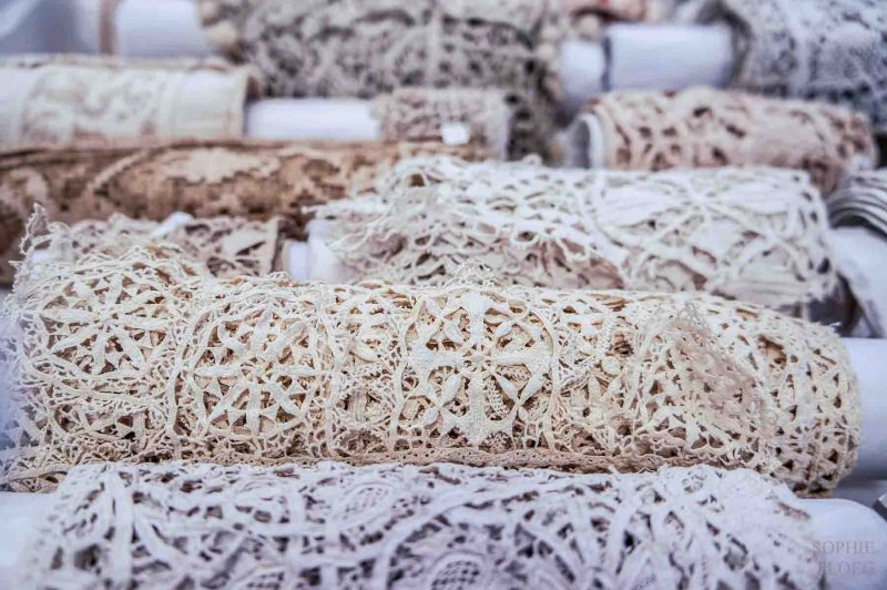 Early needle lace