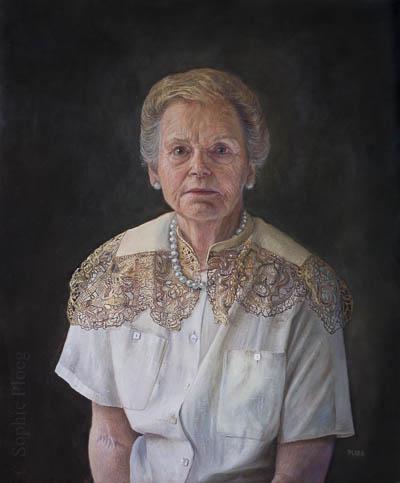 Sophie Ploeg, The Pearl Necklace, 60x50cm