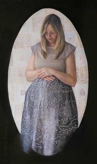 Sophie Ploeg, The Long Wait, 101.4x61cm