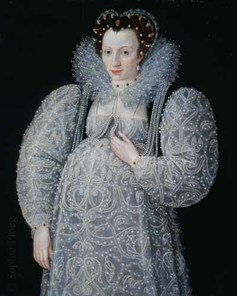 Marcus Gheeraerts the Younger, Portrait of an unknown Lady, 1595. Tate Gallery.