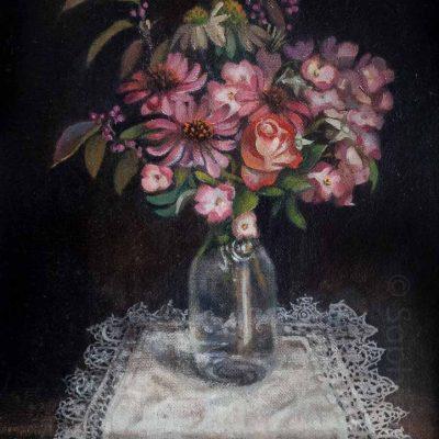 Sophie Ploeg Still Life with Flowers