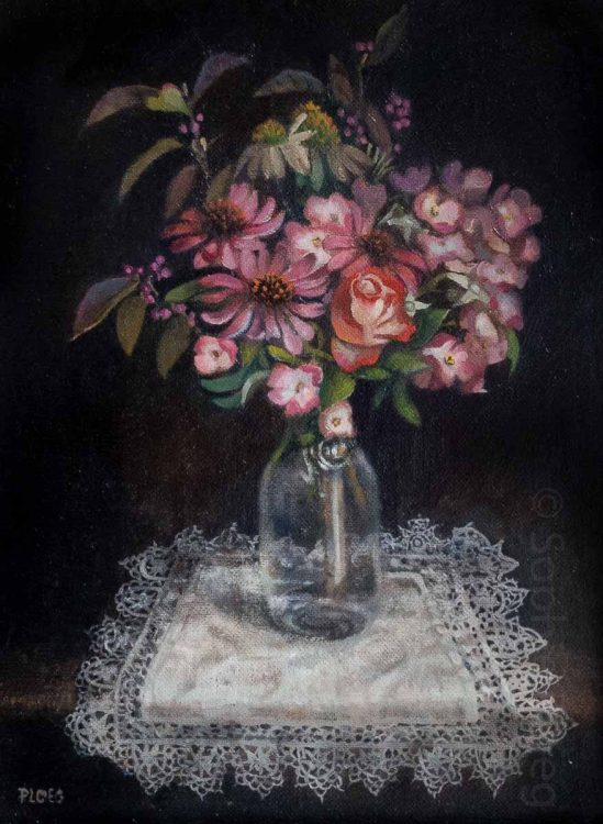 Sophie Ploeg Still Life with Flowers