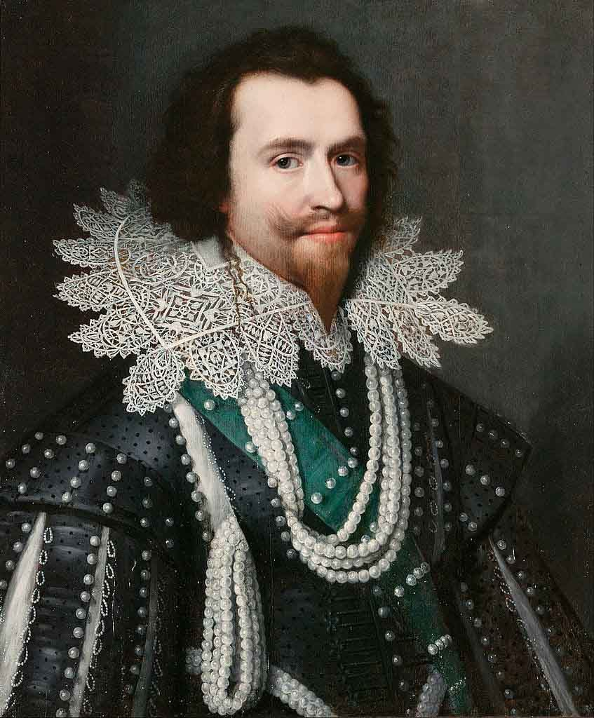 Van Mierevalt, portrait of the Duke of Buckingham