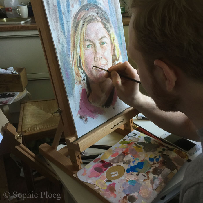 Sophie Ploeg Portrait Painting Workshop