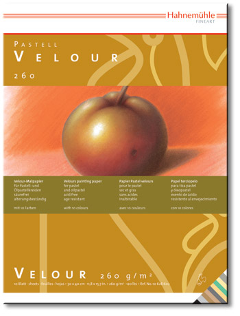 hahnemuhle velour paper