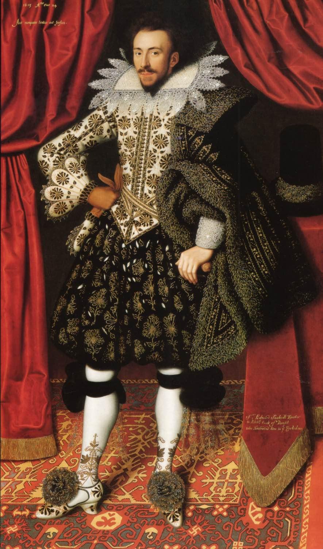 William Larkin, Portrait of Richard Sackville
