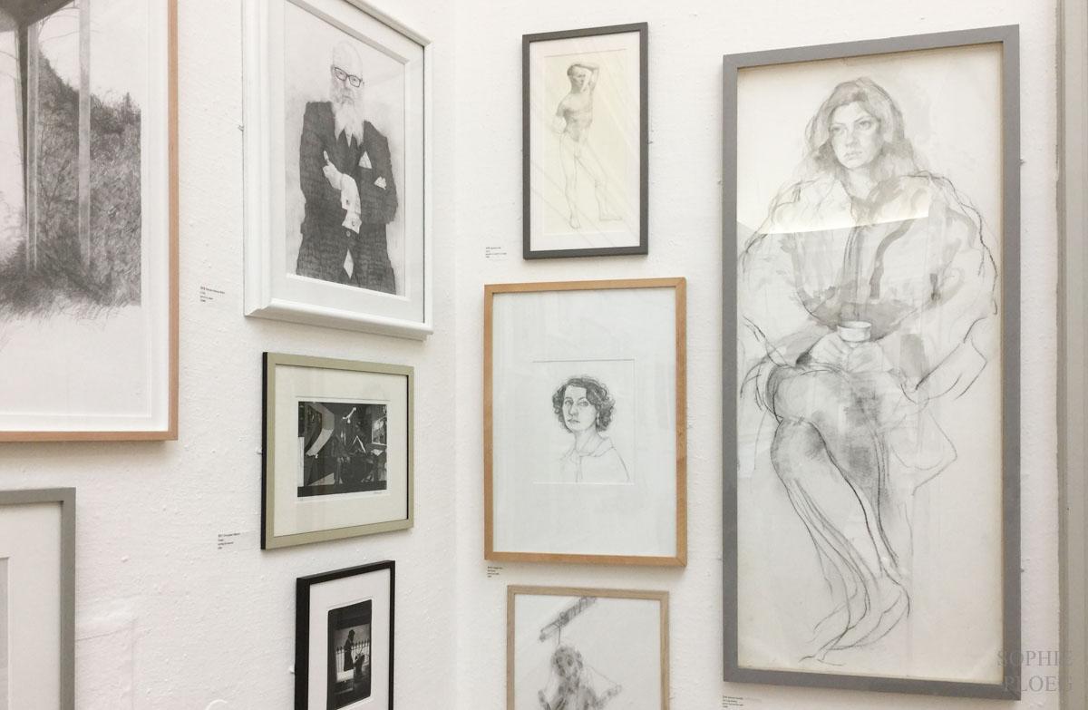 drawings at RWA Bristol