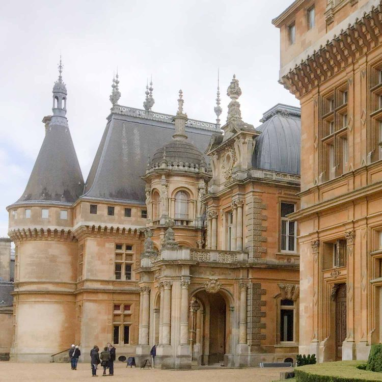 French architectural influence at Waddesdon Manor