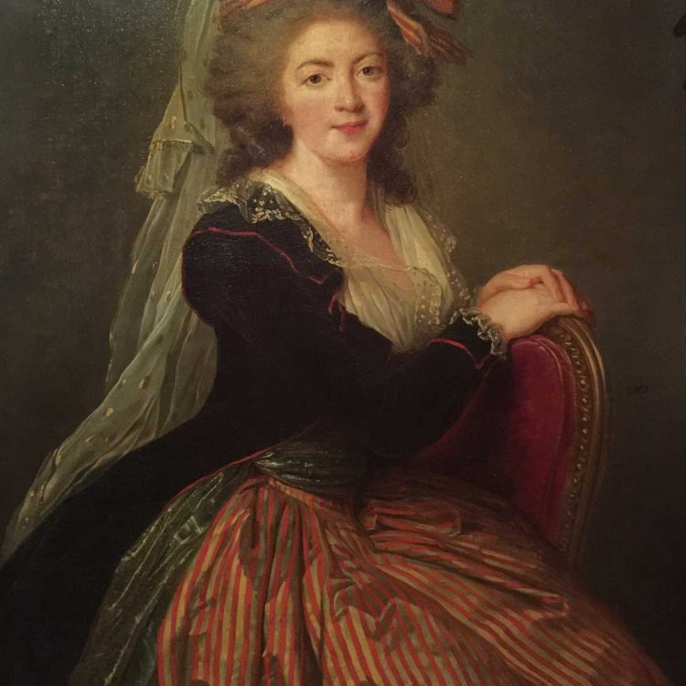 Portrait by Louise-elisabeth Vigée-Lebrun