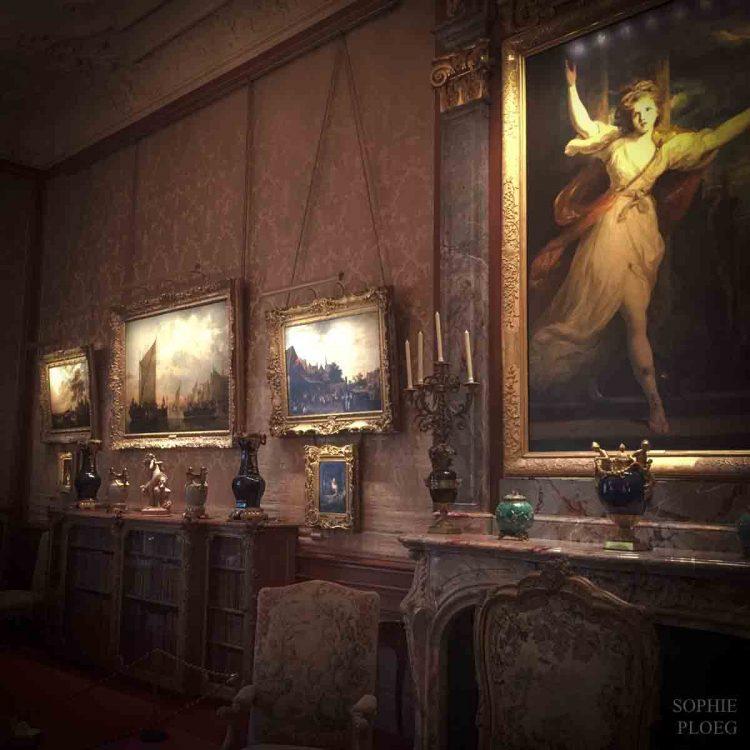 The Morning Room at Waddesdon Manor.