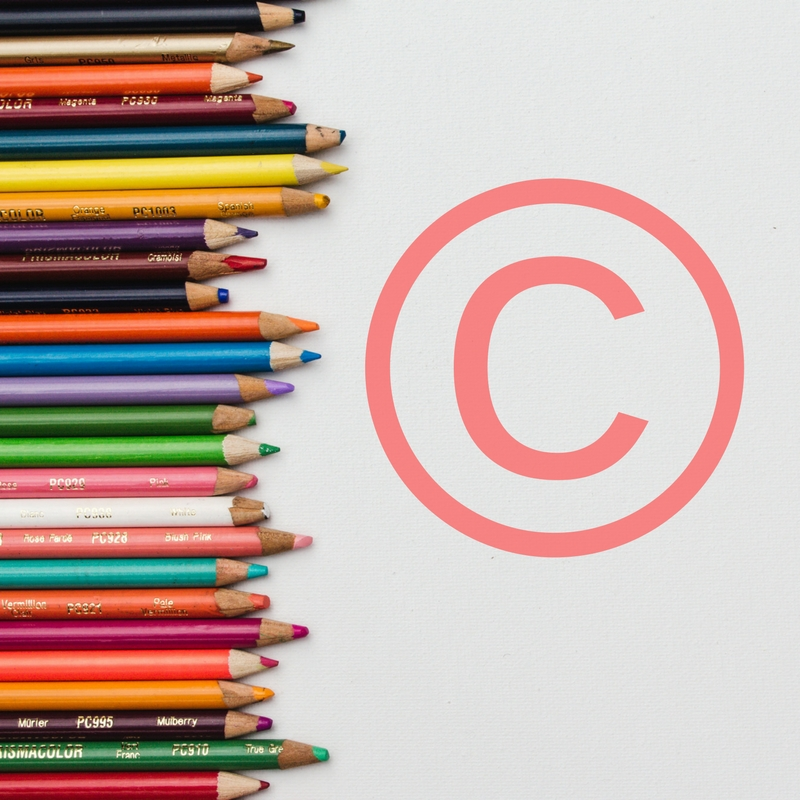 Copyright for artists online