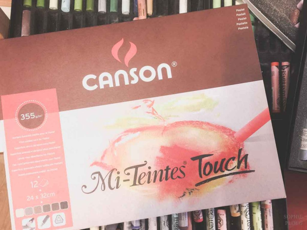 Canson Mi-Teintes Touch pastel paper