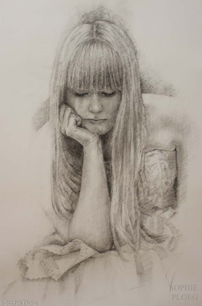 Sophie Ploeg portrait drawing