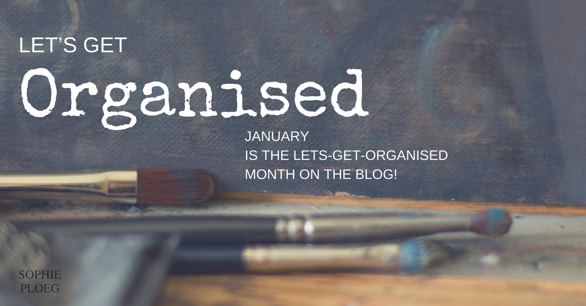 Let's Get Organised! How artists can organise their business