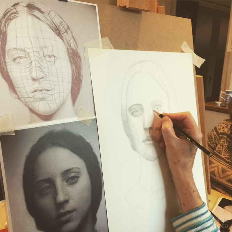 Sophie Ploeg Portrait Drawing Workshop