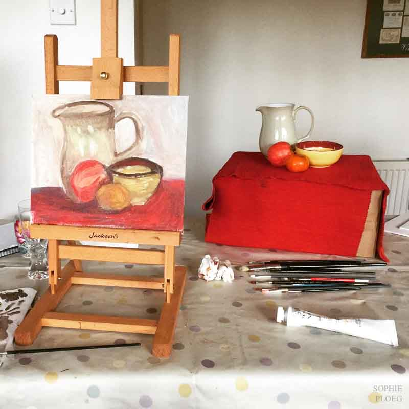 Sophie Ploeg Oil Painting Workshop