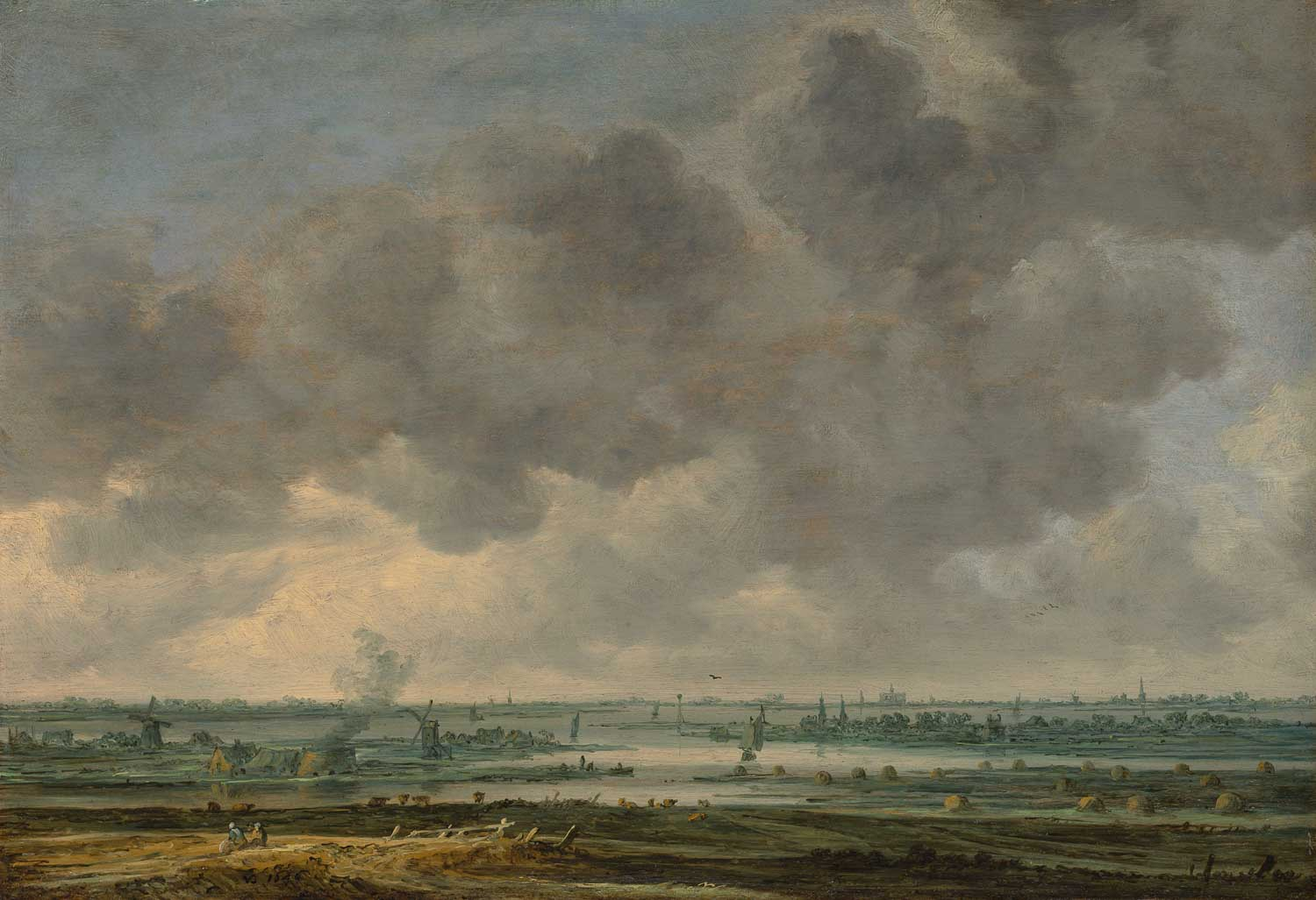 Jan van Goyen, View of Haarlem, the Met