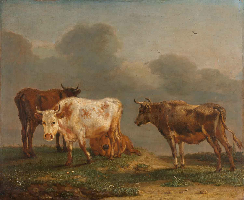 Paulus Potter, Four Cows, Rijksmuseum Amsterdam