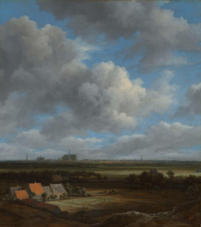Jacob van Ruisdeal, View of Haarlem, Mauritshuis Den Haag