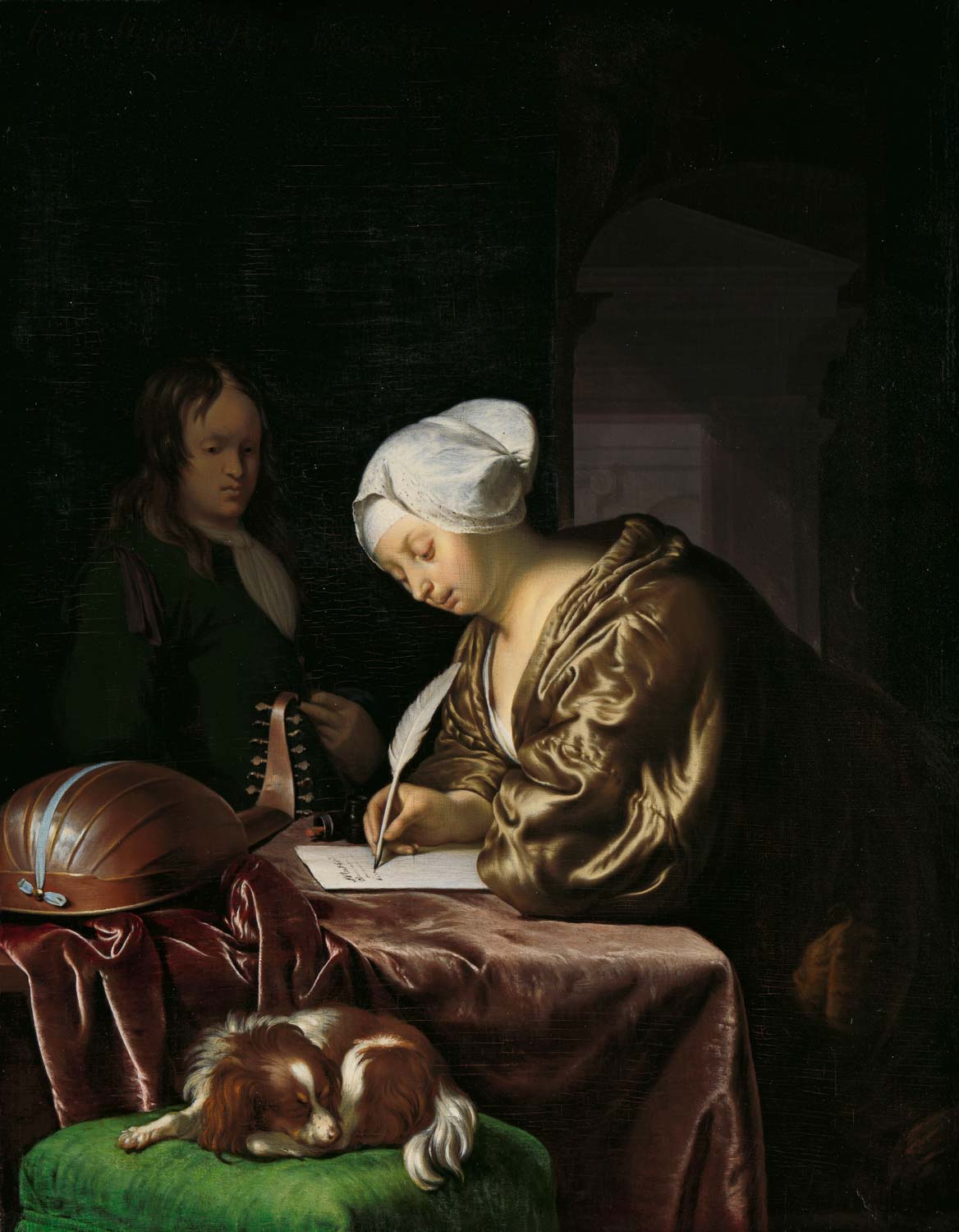 Frans van MIeris, the Letter Writer