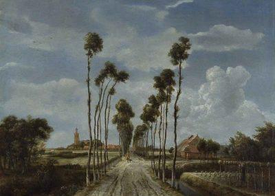 Hobbema, Avenue in Middelharnis