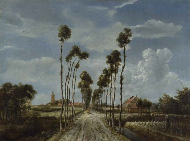 let s go for a walk dutch landscape painting in the 17th century