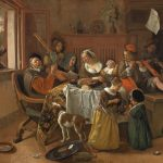 Jan Steen, The merry family,