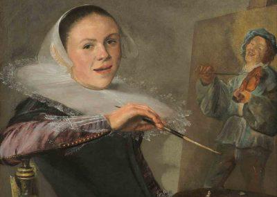 Judith Leyster, Self Portrait, National Gallery of Art Washington