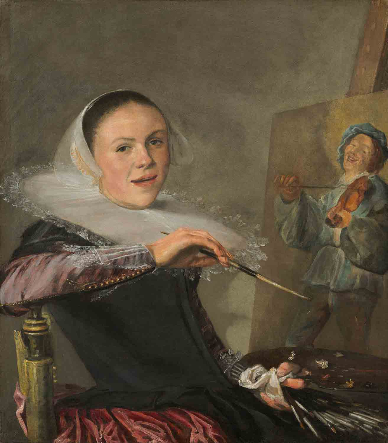 Judith Leyster, Self Portrait, National Gallery of Art Washington