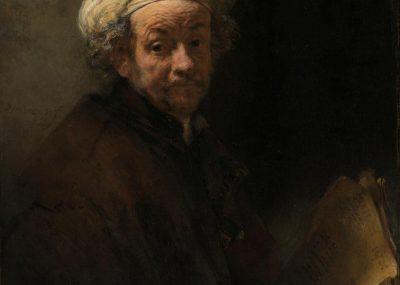 Rembrandt, Self portraits as the apostle Paul, Rijksmuseum