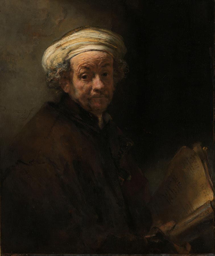 Rembrandt, Self portraits as the apostle Paul, Rijksmuseum