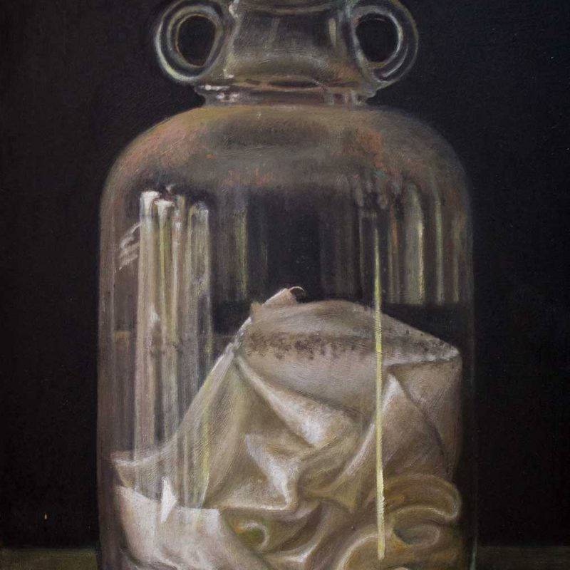 Sophie Ploeg, oil painting